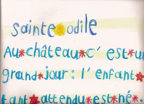 SainteOdile4èmeclasse