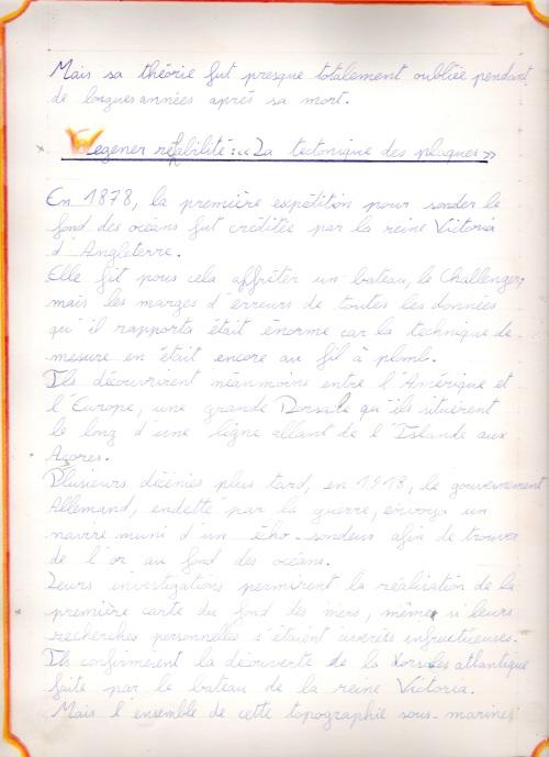 Cahier 10ème GP 25
