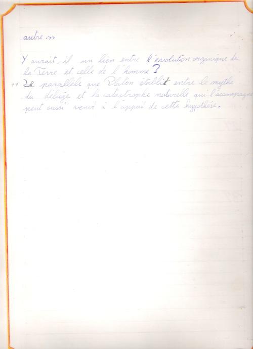 Cahier 10ème GP 30